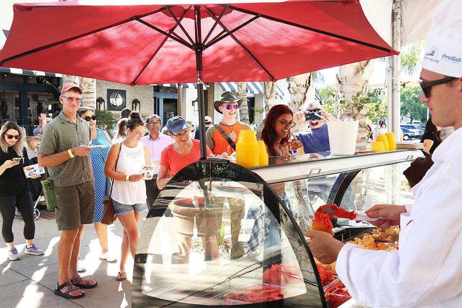 ISA fa Tappa a Santa Barbara con Gelato Festival