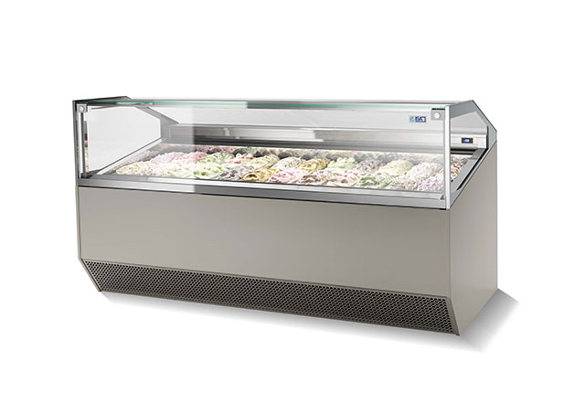 Professional Ice Cream Display Cases
