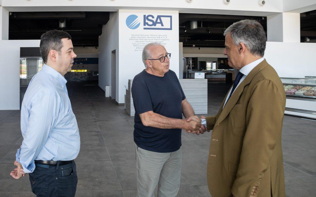 Il Prefetto Sgaraglia in visita in ISA